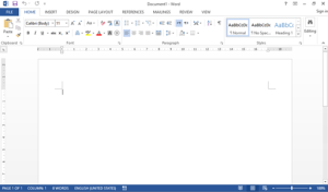 How to write accent aigu in microsoft word