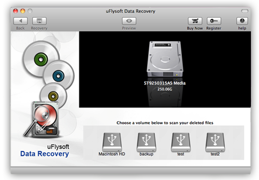 choose partition to recover