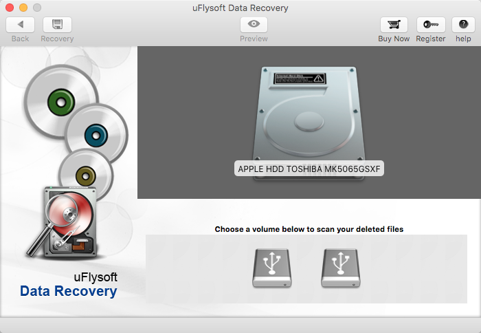 you can recover the deleted files on your Mac Computer