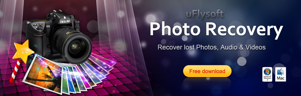 the banner of bring back lost photos