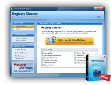 Registry Cleaner for Windows